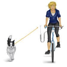 Fahrradleine Bike Fahrrad Leine mit Abstandhalter für Hunde Hundeleine Rad Seite