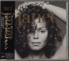 Janet Jackson Janet + photo Japanese CD album (CDLP) promo VJCP-25073 VIRGIN
