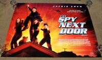 Original quad Cinema Movie Poster 30 x 40 inches The spy next door Jackie Chan