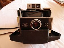 Polaroid 360 Land Camera Electronic Flash in Original Carrying Case-Elect. Timer