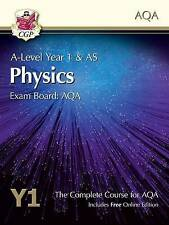 New A-Level Physics for AQA: Year 1 Student Book with Online Edition by CGP