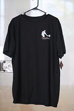 Racquetball Tournament T-Shirt BLACK DRY-FIT  Shirt by HARRITON MENS SIZE XL