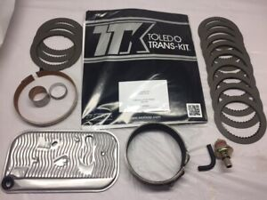 TH400 rebuild kit w/Alto Red Eagle frictions and steels (not pictured) 1968-1995