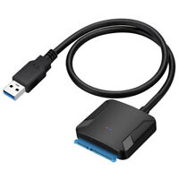SATA to USB 3.0 2.5/3.5 inches HDD SSD Hard Drive Converter Cable Line Adapter