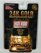 RACING CHAMPIONS HOT ROD 24K GOLD PLATED SERIES 1960 CHEVY IMPALA
