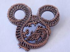Disney Trading Pins   67082 WDI - Mickey Mouse Head Fire Breathing Dragon - Copp