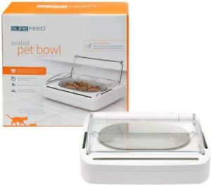 SUREFEED Sealed Pet Bowl - Motion Activated Lid - For Small Cats & Dogs - Ex Dis