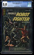 Magnus, Robot Fighter #1 CGC VG/FN 5.0 Off White