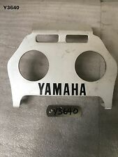 YAMAHA   TZR 250 3MA  88 - 90  TAIL LIGHT FILLER PANEL  GENUINE  Y3640 -  M660
