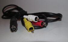 Official Sega Saturn AV Cable Cord OEM Original Authentic