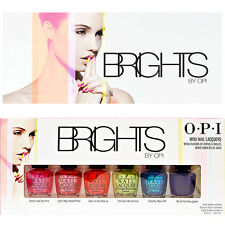 [OPI] Nail Polish Lacquer BRIGHTS Neon Colors Limited Edition 6pc Set NEW