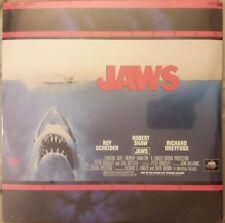 JAWS Scheider Dreyfuss MCA Universal 41086 Letterboxed Edition Laser Disc SEALED