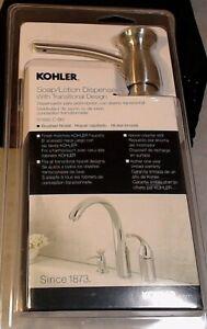 KOHLER Soap/Lotion Dispenser - Transitional Design Brushed Nickel New R1893-C-BN