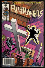 1987 Fallen Angels Comic Books Lot of 2 - #2 and #6 by Marvel