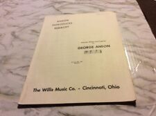 Anson Introduces Rebikoff George Anson Piano Sheet Music Book Intermidiate