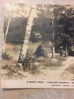 Postcard, Muskoka 1927 Lake Rosseau Canada Vintage P42