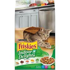 Purina Friskies Indoor Delights Dry Cat Food, 3.15 LB Bag (Pack of 2)