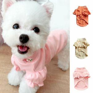Pet Dog Clothes Cat Puppy Dog T Shirt Pullover Coat Hoodies Warm Clothing