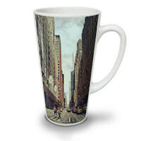 America Street Fashion NEW White Tea Coffee Latte Mug 12 17 oz | Wellcoda