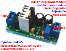 AC/DC Buck Rectifier Adjustable Voltage Regulator Step-down Module 5V 9V 12V 24V