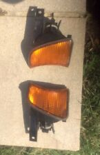 2x BMW E34 5 series PAIR of Original Front Indicators  518i 520i 525i 535i 540i
