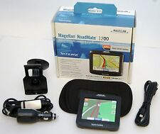 Magellan RoadMate 1200 Car Portable GPS Navigator System Kit Set USA MAPS -B-