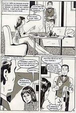 LA LOUVE WEEKEND A PEKIN  (RENAUD) PLANCHE ORIGINALE AREDIT PAGE 93