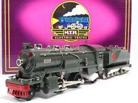 MTH 10-1063-1 No. 263e Steam Loco Gray w/Nickel Trim Protosound 1.0 LN