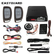 EASYGUARD pke car alarm passive keyless entry push start button password keypad