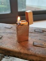 Gold Plated Cigarette Lighter by Flaminaire