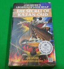 The Secret of Kazan-Oud ***VGC!!*** Joe Dever Legends of Lone Wolf Red Fox #1