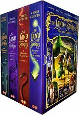 Chris Colfer Land of Stories Collection 4 Books Box Set Pack Beyond the Kingdom