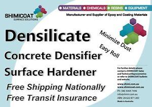 DENSILICATE Concrete SEALER Densifier Impregnator Hardener Surface Polishing DIY