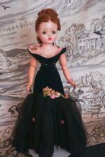 SALE Vintage Madame Alexander Cissy Doll 1956 Black Mermaid Outfit orig. flowers