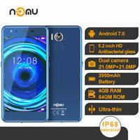 4G LTE Rugged Android Smartphone Waterproof Phone Dustproof Mobile Dual SIM NOMU