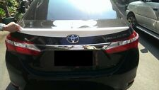 REAR SPOILER ABS FOR TOYOTA COROLLA '14-16 Unpainted