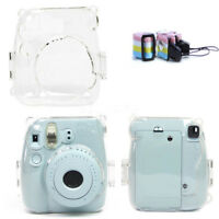 New Clear Hard Case Protector Cover for Fujifilm Instax Mini 8 9 Polaroid Camera