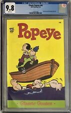 Classic Comics: Popeye #46 CGC 9.8 Reprints Stories from Popeye #46 (10/58)!