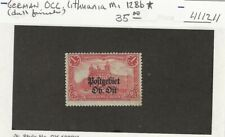 German Occupation of Lithuania Michel 12Bb Mint Hinged ( Dull Finish) 411211)