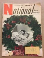 1950 National Home Monthly Dec. Vintage Christmas Magazine Print Ads Coke Ad E83