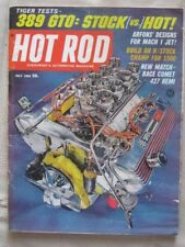 HOT ROD - JULY 1965  - GTO ROAD TEST