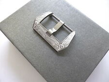 White background 24mm engraved buckle for your Panerai - Clasp - EU shipping