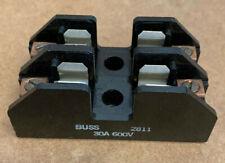 Buss Fuse Holder, # 2811,  2-POLE, 600V, 30 Amp