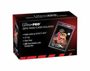 (50) Ultra-Pro Semi Rigid Trading Card Holders - Card Saver - Ready to Ship