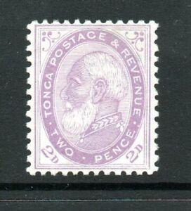 Tonga, 2d pale violet, SG 2b, MH, 1887