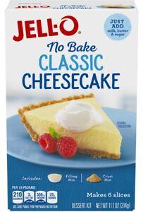 Jello No Bake Classic Cheesecake Dessert 11.1 oz packet x 2 packets