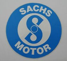 Aufkleber SACHS MOTOR Moped Mofa Mokick Hercules Kreidler 5,5 cm Sticker