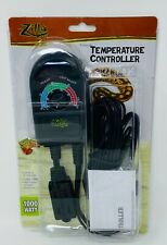 New listing Zilla 1000w Temperature Controller for Reptile Terrariums Plants Grow Tent New