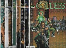 GODDESS #1-#8 SET (VF-) GARTH ENNIS, DC VERTIGO SERIES