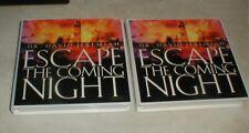Lot-2 Dr DAVID JEREMIAH Escape The Coming Night 24-Cassette Tape Set Volumes 1-2